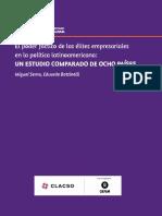 2018 oxfam clacso el poder de las elites empresariales en América Latina