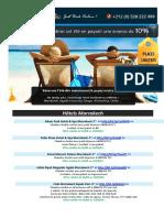 Liste Hotels Maroc Ete