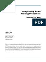 PARCHES EN TR´S  owen oil tools CASING PATCH