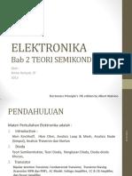 Elektronika- 2 Semi Konduktor