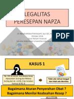 Legalitas Peresepan NAPZA