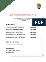 informe mercantil