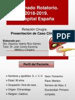 Caso Clinico coledocolelitiasis