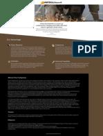 One Page Web Design for Vertex Buildsworth