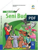 Buku Guru Seni Budaya Kelas 9 K13 Revisi 2018