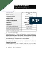 Ficha Círculo Restaurativo Presentar