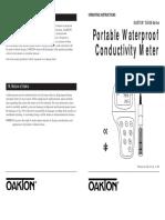 OAKTON CON-400 Conductivity Meter