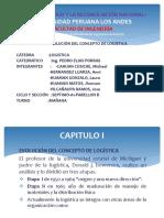 Evolucion de Concepto de Logistica