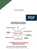 02 - Grupos Farmacológicos - Adrenérgicos e Colinérgicos - SNA