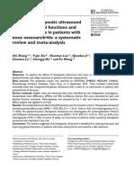 OA e Ultrassom Terapêutico - Revisão 2016