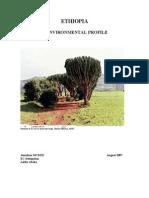 Ethiopia Environmental Profile 08 2007 En