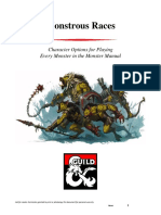 D&D5e - Monstrous Races 1 v2