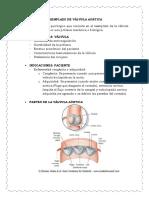Reemplazo de Válvula Aortica