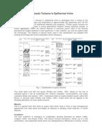 Classification of Quartz Textures in Epithermal Veins