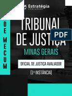 Vade Mecum Oficial de Justiça TJ MG
