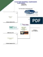 PIAA District-III Class 2A Boys basketball 2019 brackets