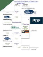 PIAA District-III Class 3A boys basketball 2019 updated brackets