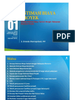 PPT Estimasi Biaya Proyek [TM1]