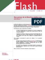 02 Que Penser de La Directive Relative Aux Services