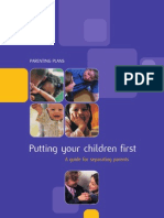 CAFCASS Parenting Plan