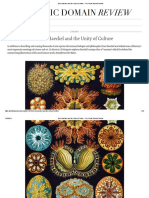 Ernst Haeckel and the Unity of Culture