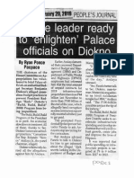 Peoples Journal, Feb. 20, 2019, House leader ready to enlighten Palace officials on Diokno.pdf