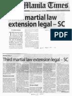Manila Times, Feb. 20, 2019, Third martial law extension legal - SC.pdf