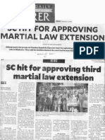 Philippine Daily Inquirer, SC hit for approving Martial Law extension.pdf