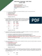 Contabilitate Finaciara Teste Grila - Rezolvate