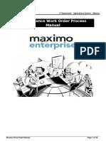 03 WO Maintenance End User Manual