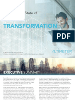 The 2016 State of Digital Transformation Altimeter