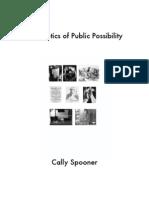 The Erotics of Public Possibility
