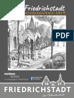 Urlaubsmagazin und Gastgeberverzeichnis Friedrichstadt 2019