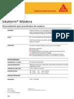 1.4. HT Sikaform® Madera REV. 04.08.14