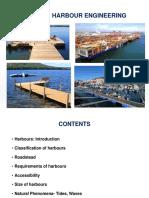 Ports & Harbour Engineering- 1- Harbours & Natural Phenomena