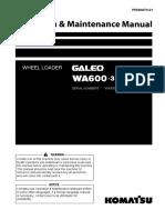 OMM WA600-3 # 62001 ~ Up PEN00070-01