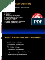 Railway Engineering-1- Railway Engineering & Its Development