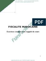 Fiscalite S5 rappel+exercices+corrigés - www.fsjesfacile.com