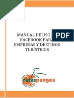 Manual de Uso de Facebook Para Empresas y Destinos Turísticos
