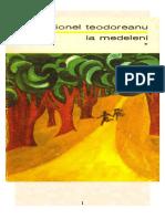 Ionel Teodoreanu - La Medeleni 1 - Hotarul Nestatornic(v2.0)