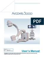 Villa Arcovis 3000 C-Arm X-Ray System - User Manual