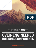 Five Topmost Over-Engineered Building Components