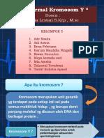 Abnormal Kromosom y Tugas Kelompok 5-1