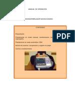 Manual Operacion Cardiodesfibrilador