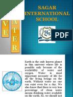Save Water - Sagar International School