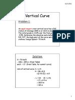 3b Vertical Curve problem