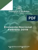 Informe Nacional Feb19 - Gustavo Córdoba y Asociados