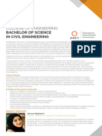 Coe Ug Bachelor of Science in Civil Engineering