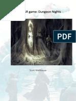 Dungeon Nights - Scott Malthouse