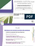 JOUR NE E C OTI TA. O uest et Normandie-C entre. Détermination des indicateurs de durabilité L 'A PPR OC HE PER FOR M A N TI EL L E.pdf